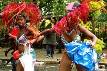 Street Party, Rain, Dancing, dancers, carnival,