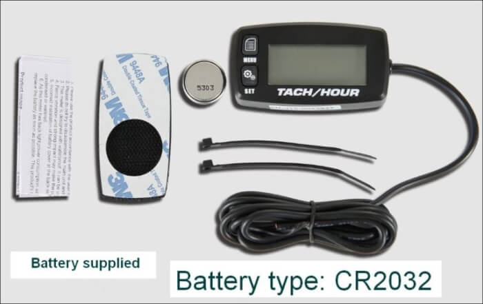 Hour Meter and Tachometer