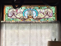 Front room stained glass