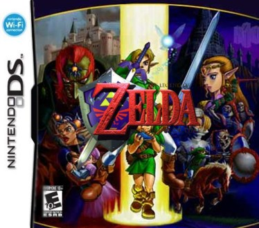 3ds   Two guys  one blog zelda ds boxart