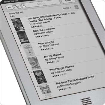 Kindle Touch arrives early to UK