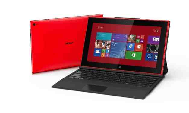 Nokia Lumia 2520 10-inch Windows RT & 4G Tablet Announced
