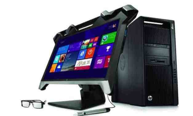 CES 2015: HP announce new 3D, curved, 4k, and 5k monitors