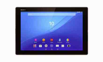 Sony announce Xperia Z4 Tablet