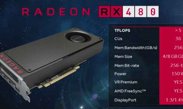 AMD Announces Radeon RX480