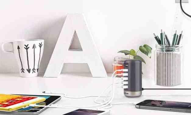 Mini-Review: Jelly Comb Fast Charging 6-Port Desktop USB Hub/Charging Station