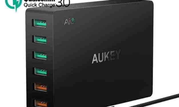 Aukey Quick Charge 3.0 Chargers Mini Review