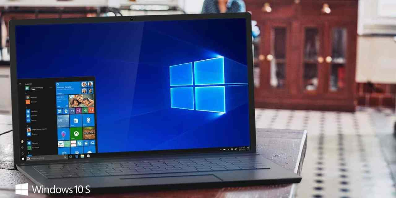 Windows 10 S Announced: Windows Chromebook alternative