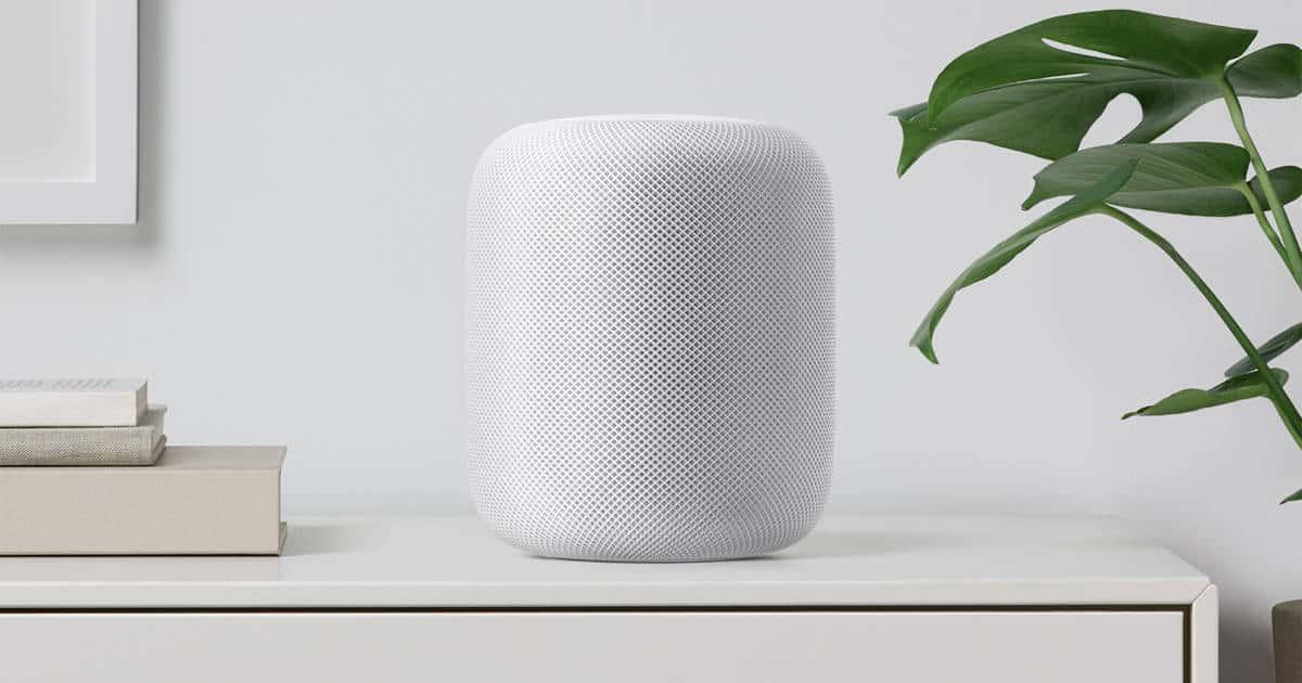 Apple Announces Homepod, its Siri smart speaker