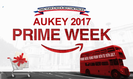 Aukey Amazon Prime Deals 2017