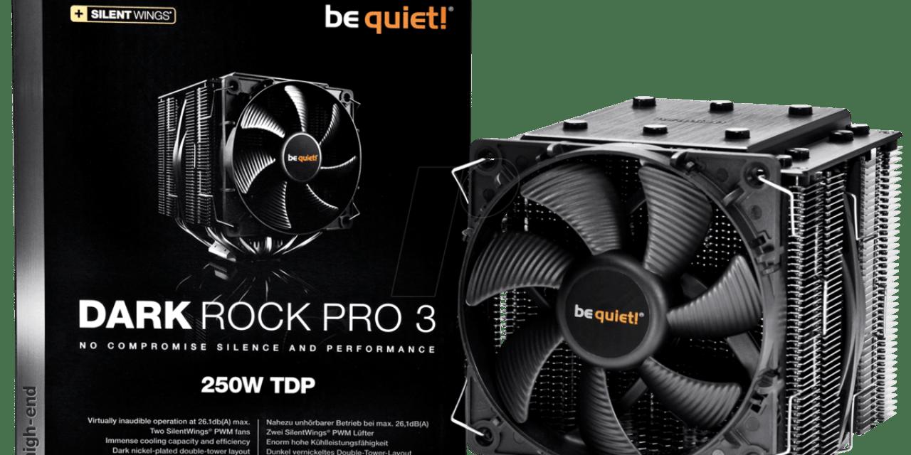 Be Quiet BK019 Dark Rock Pro 3 Heatsink Review