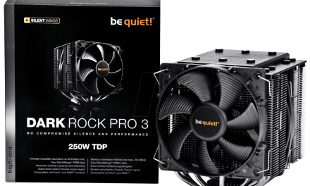 Be Quiet BK019 Dark Rock Pro 3 Heatsink Review
