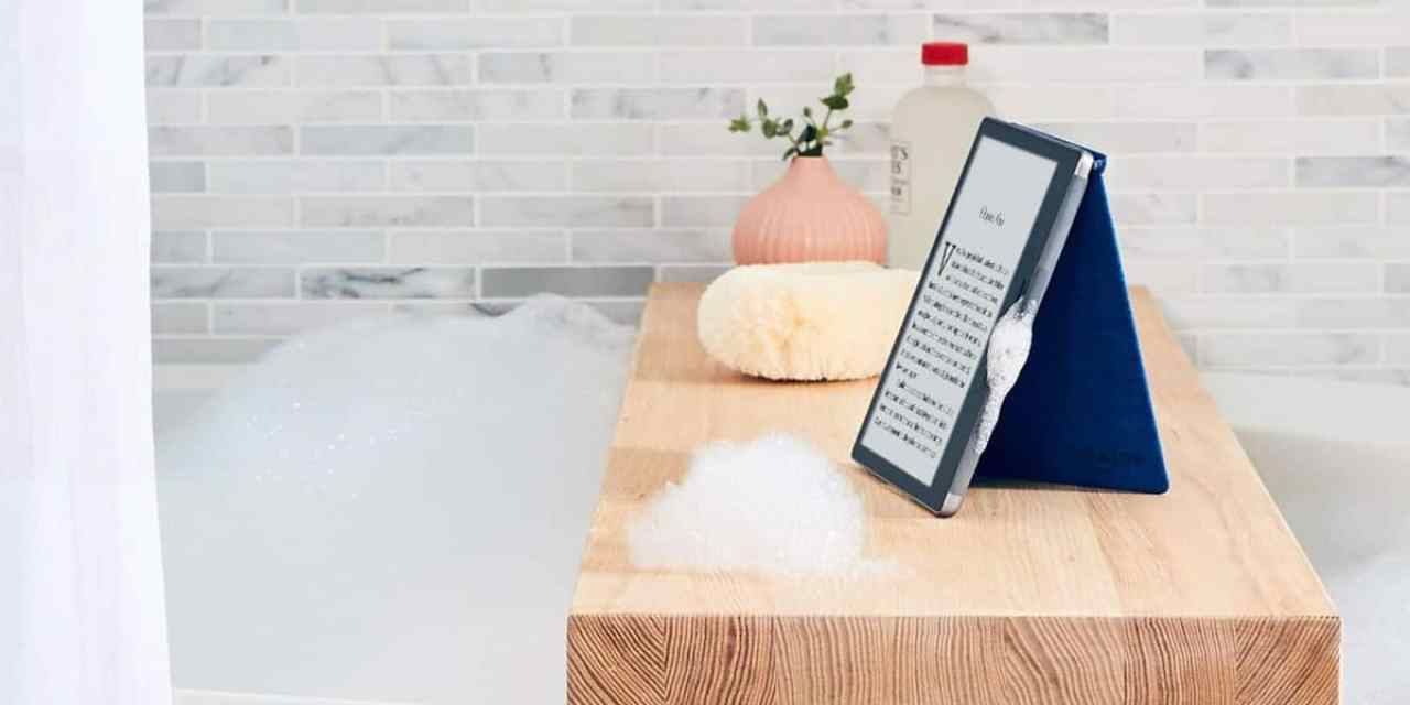 New Kindle Oasis announced that is waterproof and with Audible