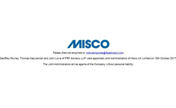 Misco UK Enters Administration, 300 Jobs Lost