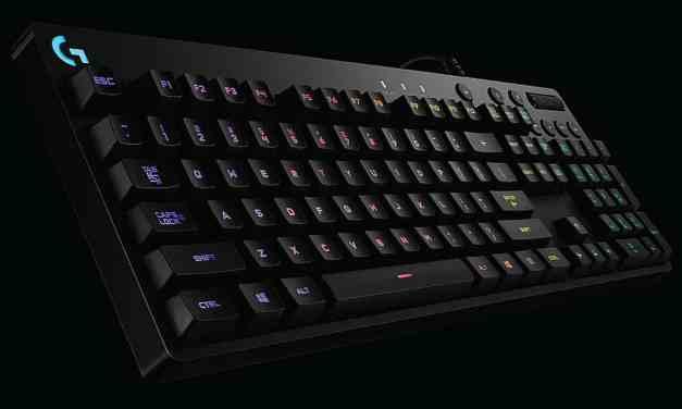 Logitech G810 Orion Spectrum RGB Mechanical Gaming Keyboard Review