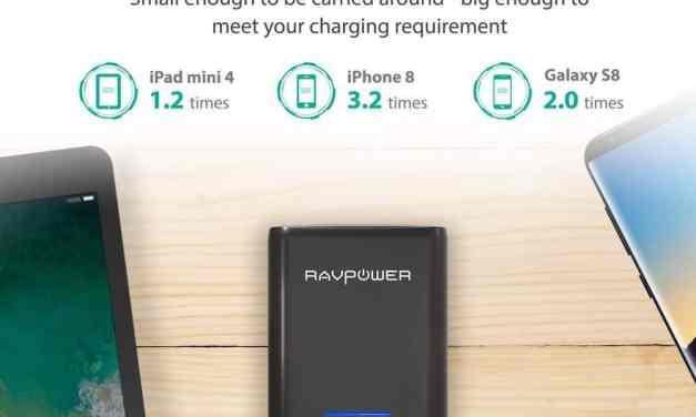 Win a RAVPower 10000mAh Battery Pack