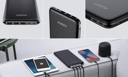 AUKEY USB-C & Lightning 20000mAh Power Bank Review