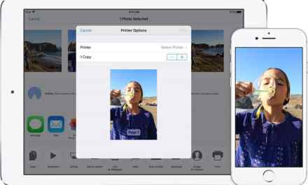 How to print from iPad & iPhone