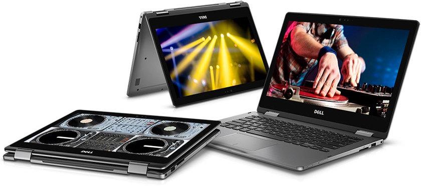 Dell Inspiron 13 7000 2-in-1 Launched with AMD Ryzen 5 2500U / Ryzen 7 2700U