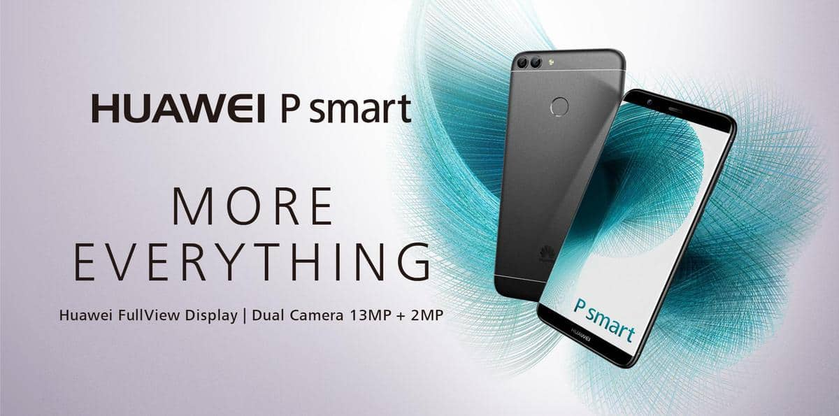 Win a Huawei P Smart Android Smartphone