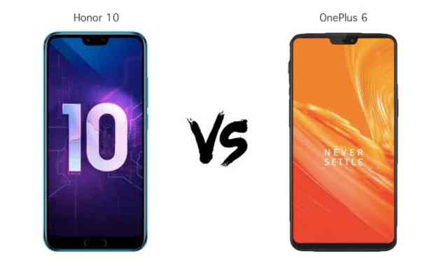 OnePlus 6 vs Honor 10 vs Samsung Galaxy S9