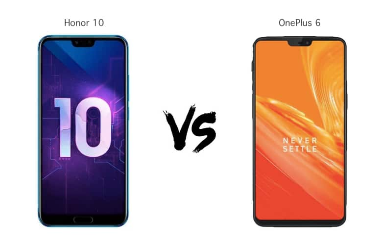 OnePlus 6 vs Honor 10 vs Samsung Galaxy S9