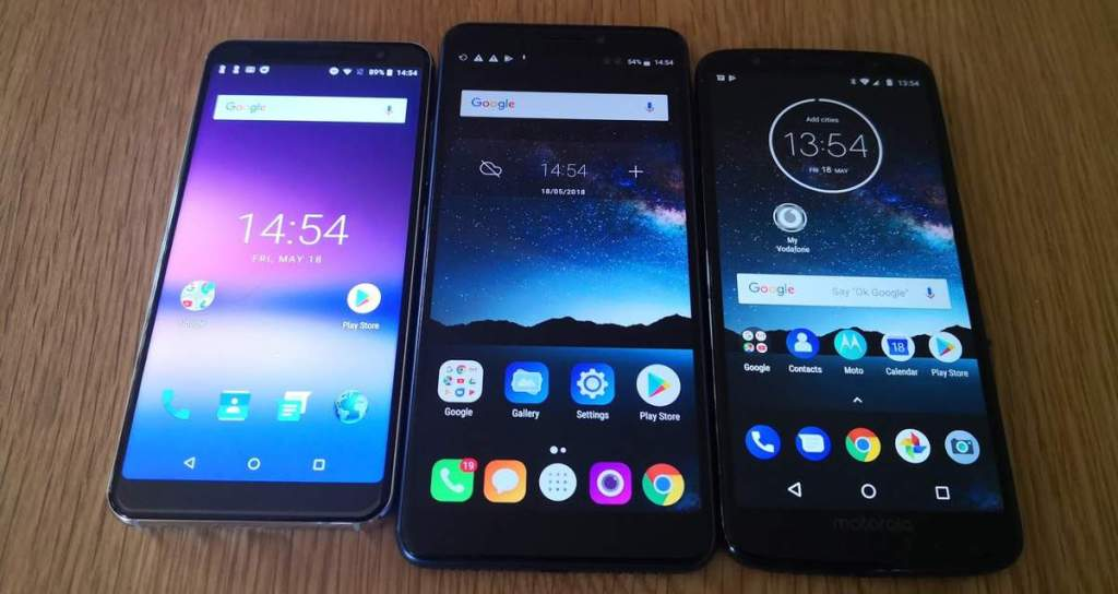 A1 Pro vs Alcatel 3V vs Moto G6