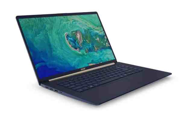 Acer Reveals Sub-1KG Swift 5 Laptop