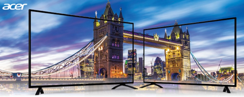 ACER to launch 49 and 55-inch 4K HDR PC IPS displays
