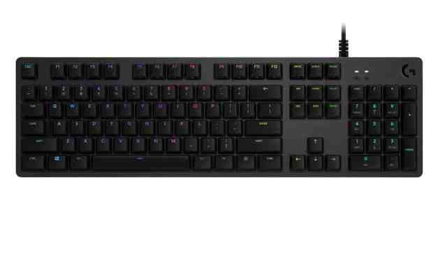 Logitech G512 Mechanical Keyboard Announced with three different key switch choices
