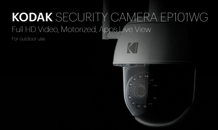 Kodak Security Network surveillance camera with pan / tilt /zoom review: Model EP101WG