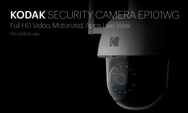 Kodak Security Network surveillance camera with pan / tilt /zoom review: Model EP101WG
