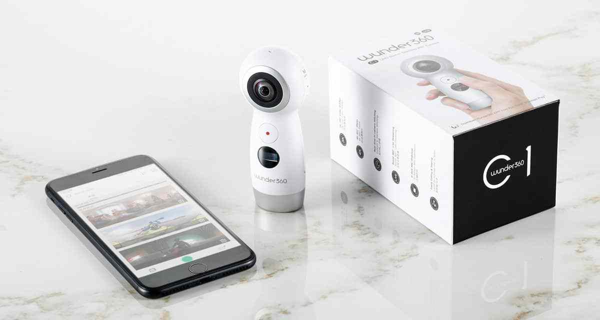 Wunder360 C1 Review : VR & 360-camera with  Electronic Image Stabilization & 4K in-Camera Stitching
