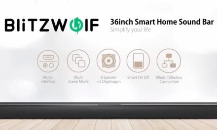 BlitzWolf BW-SDB1 36-inch 2.0 Channel Soundbar Review
