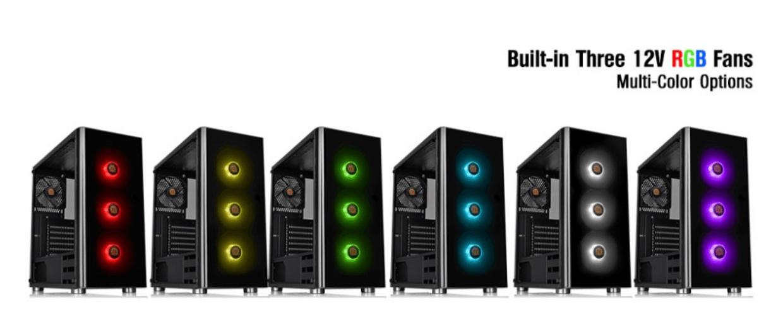 Thermaltake V200 TG RGB PC Case Review