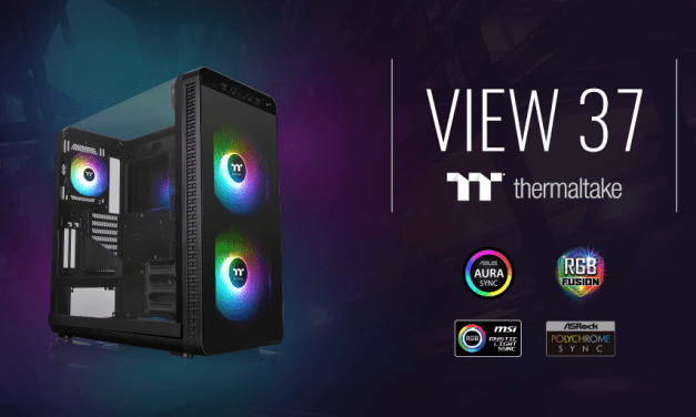 Thermaltake View 37 ARGB Mid-Tower PC Case Review