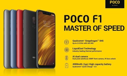 Xiaomi Pocophone F1 now officially launched on Amazon UK for £329.99