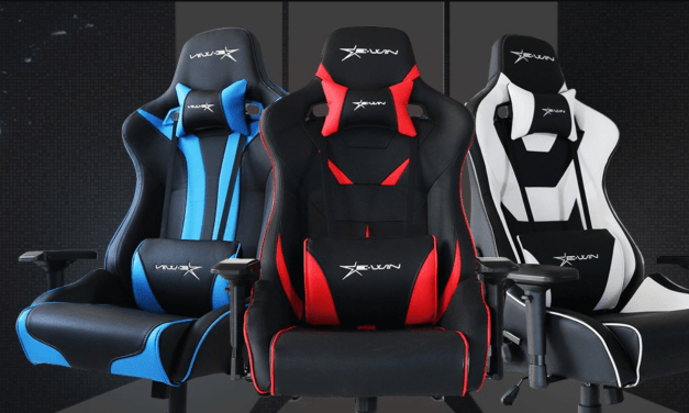 E-Win Racing Flash Gaming Chair Review – A comfortable bucket seat racing chair with a great warranty