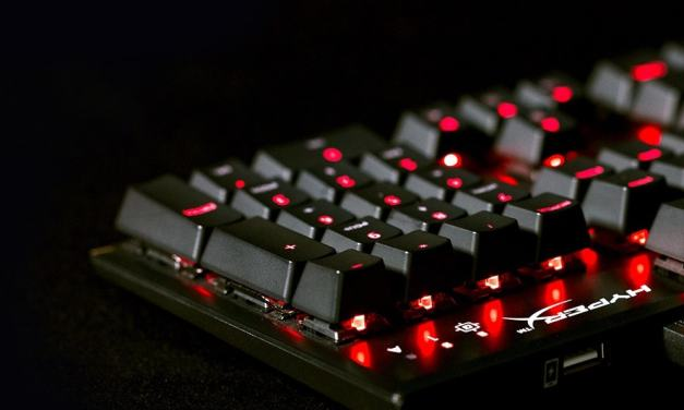 HyperX Alloy FPS RGB Mechanical Keyboard Review- HX-KB1SS2-UK