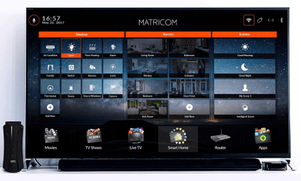 Matricom Arc Smart Home Management System (Router, Z-Wave controller, and media player)