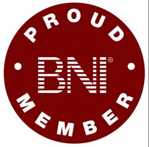 Proud BNI Member logo
