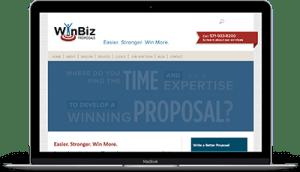 WinBiz website