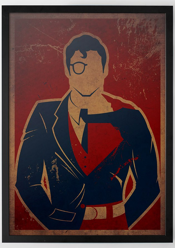 Superheroes And Their True Identity Posters MightyMega