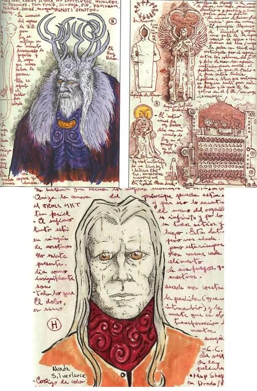 Guillermo Del Toro S Concept Art Sketchbooks Mightymega