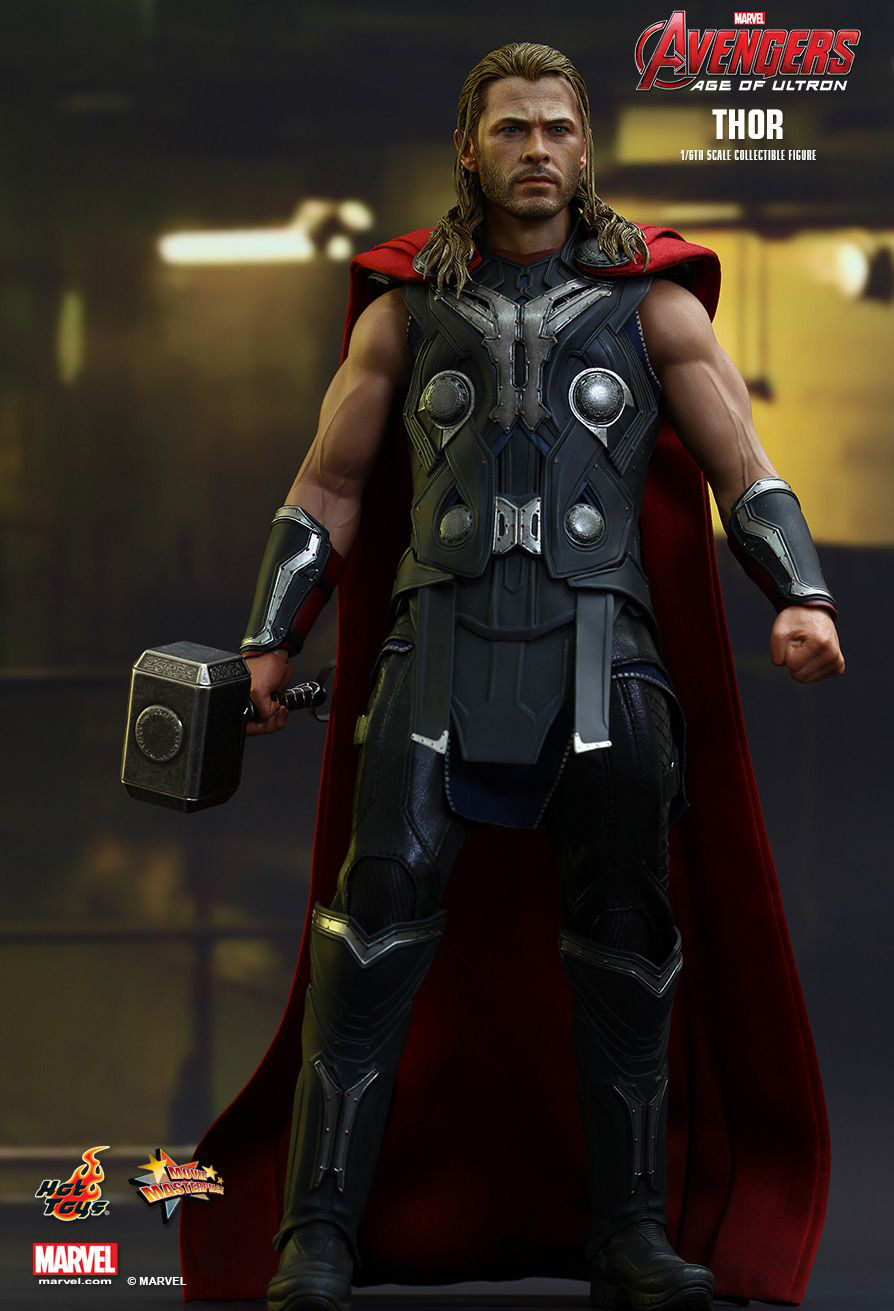 Hot Toys 1 6 Scale Thor Action Figure Mightymega