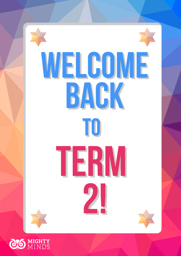 Image result for welcome back to term 2