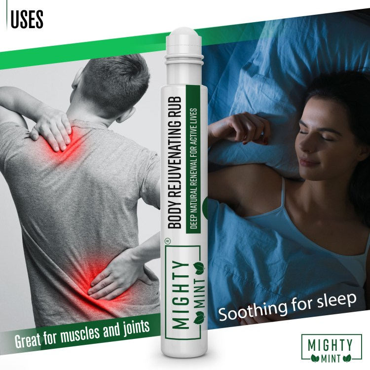 Body rejuvenating rub for muscles and sleep