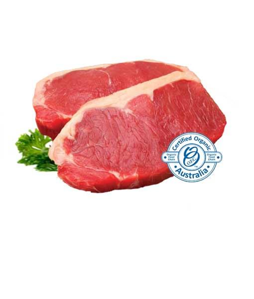 Organic meat in Cairns - sirloin steak