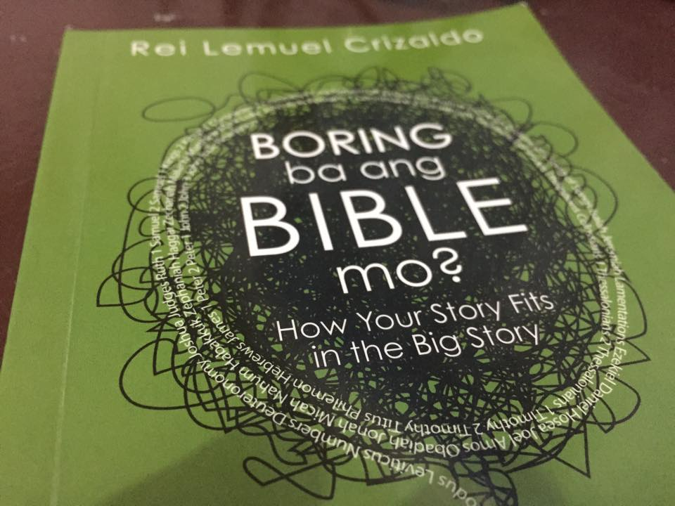 "Video Blog: ""Boring Ba ang Bible Mo?"" by Rei Lemuel Crizaldo"
