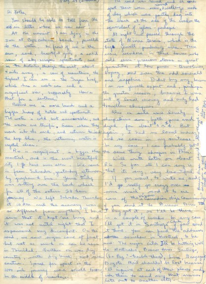 Letter From Rio July 29, 1967